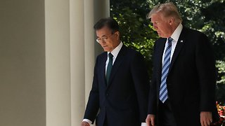Trump To Meet With South Korean Counterpart At The White House - Video