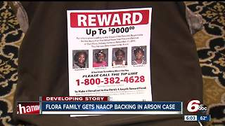 Flora family gets NAACP backing in arson investigation that left four young sisters dead - Video