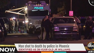 Victim shot, killed by Phoenix police Monday identified - Video
