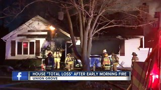 Deputy rescues man from house fire