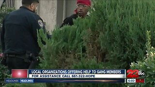 Local organizations helping Bakersfield gang members