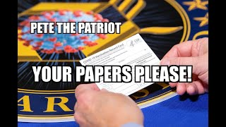 YOUR PAPERS PLEASE