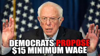 Democrats Propose $15 Minimum Wage