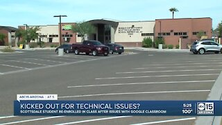 Mother questions why daughter was withdrawn from school after technical issues in online classes