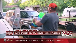 Parts of Green Country prepare for more flooding