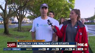 Lee Health Wellness Center launches morning walking club - Video