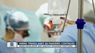 Hiring trends shift as pandemic continues