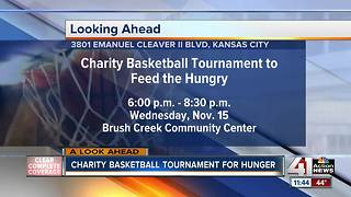 Charity Basketball Tournament to Feed the Hungry - Video
