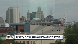 Mistakes to avoid while looking for an apartment in Buffalo