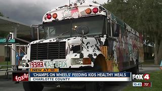 'Champs on Wheels' feeding kids healthy meals