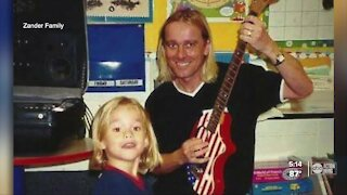 Rock band frontman teams up with son to put on shows in Tampa Bay