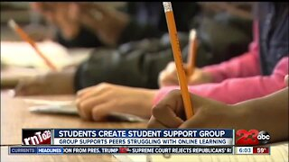 Students create support group for peers struggling with distance learning lll