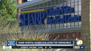 Hospital says person discharged after coronavirus evaluation