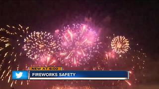 Fireworks safety for the Fourth of - Video