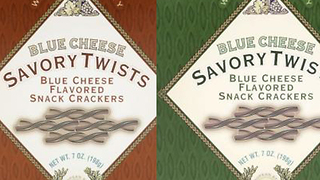 Blue Cheese Savory Twists recalled because of salmonella - Video
