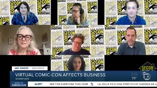 Virtual Comic-Con affects San Diego businesses