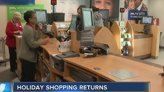 Local retailers welcome post-Christmas shoppers - Video