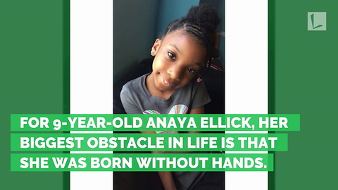 How a 9-Year-Old Girl Born Without Hands Won a National Handwriting Contest