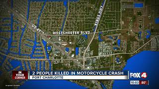 Two killed in motorcycle crash in Port Charlotte - Video