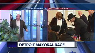 The Detroit mayoral race comes to an end today - Video