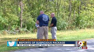 OSHP: Suspicious package in Warren County determined to be non-hazardous - Video