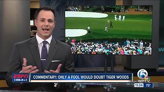 COMMENTARY: ESPN 106.3's Paxton Boyd says don't write off Tiger Woods after Round One at The Masters - Video