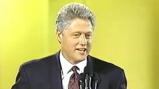 Bill Clinton In Support Of NRA Position - Video