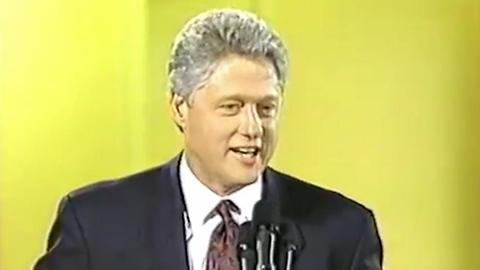 Bill Clinton In Support Of NRA Position