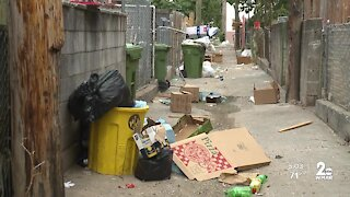 Northeast Baltimore neighborhood asking city for help with rats and trash