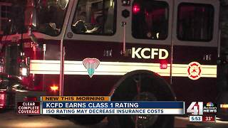What a 'Class 1' rating for KCFD means for you