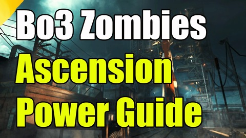 Black Ops 3 Zombies Ascension How to Turn On the Power