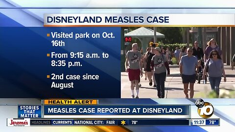 Disneyland guests warned of measles exposure after infected person visits park