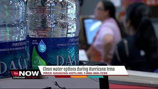 Finding water in Tampa Bay before Irma - Video