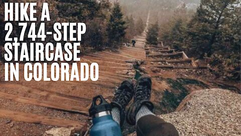 You Can Hike A 2,744-Step Staircase Up To The Clouds In Colorado