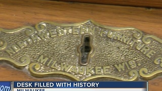 Desk filled with history at Milwaukee's City Hall - Video