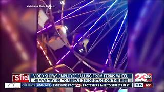 VIDEO: Fair employee falls from Ferris wheel - Video