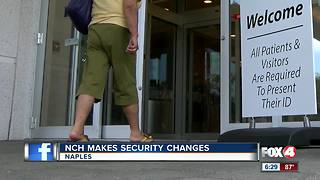 New hospital security measures begin at NCH Health System - Video