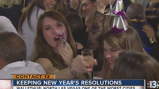 WalletHub releases best, worst cities for keeping resolutions - Video