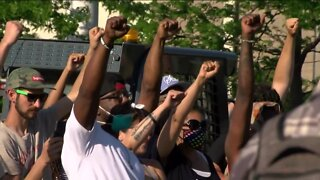 Crowds gather to celebrate Juneteenth