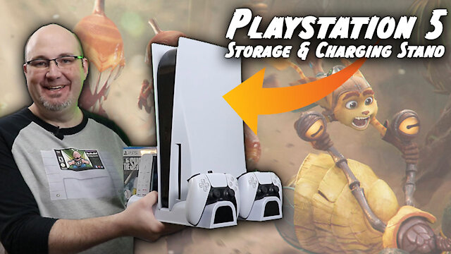 Is This The Ultimate Charging & Storage Stand for the PlayStation 5?