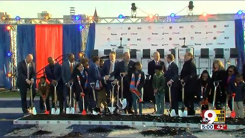 FC Cincinnati breaks ground on West End stadium