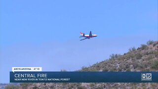 Central Fire starts near New River