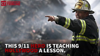 9/11 Photos Show Celeb Quietly Donned Old Firefighter Uniform To Help - Video