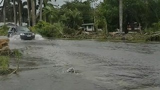 Cyclone Gita Brings Flooding to Samoa - Video