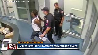Winter Haven Police officer arrested, accused of breaking inmates leg