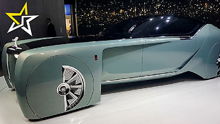 Rolls-Royce Unveils New Concept For Car 100 years In The Future - Video