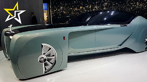 Rolls-Royce Unveils New Concept For Car 100 years In The Future