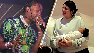 Travis Scott Opens Up About Baby Stormi for the FIRST Time Since Kylie Jenner Gave Birth - Video