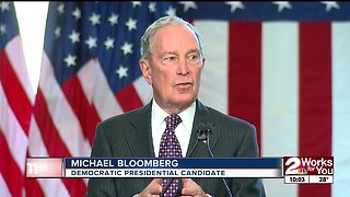 Presidential Candidate Visits Tulsa