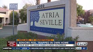Seniors say they feel trapped in their own homes amid outbreak - Video